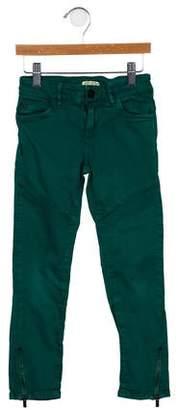 Kenzo Girls' Five-Pocket Straight-Leg Pants