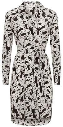 Diane von Furstenberg Prita Chain Shirt Dress