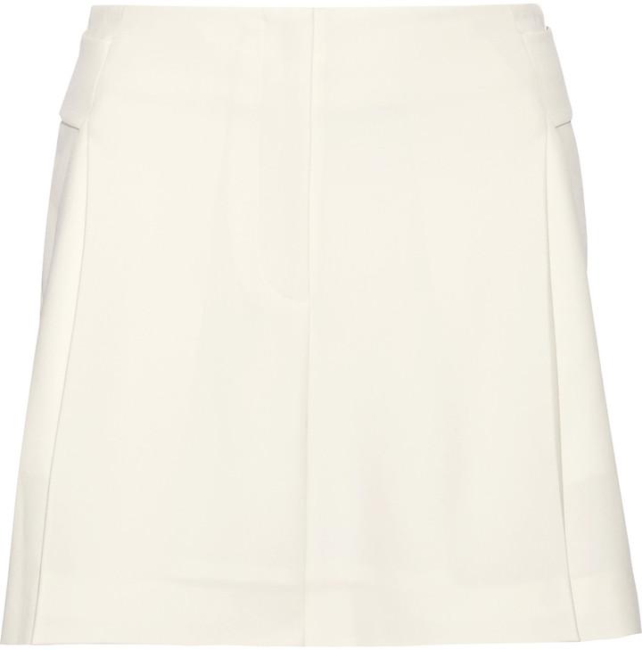 Alexander WangAlexander Wang Pleated crepe shorts