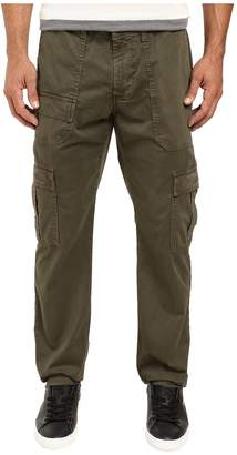 AG Adriano Goldschmied Scout Modern Cargo in Sulfur Army Green Men's Casual Pants