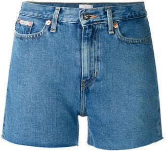 Calvin Klein Jeans cut-off shorts $89.05 thestylecure.com
