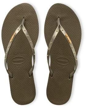 Havaianas You Maxi Rubber Flip Flops