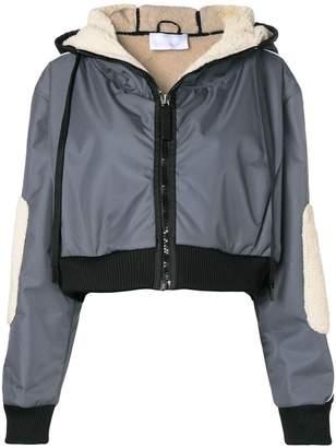 NO KA 'OI No Ka' Oi panelled logo sleeve jacket