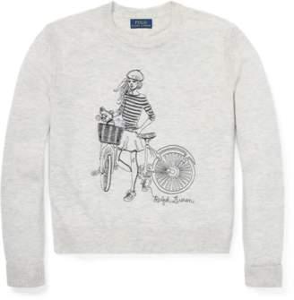 Ralph Lauren Graphic Wool-Blend Sweater