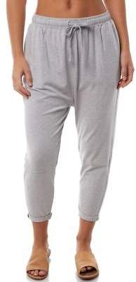 Elwood New Women's Womens Corey Pant Cotton Viscose Elastane Grey