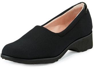 Taryn Rose Tutu Comfort Slip-On Flat, Black $93 thestylecure.com