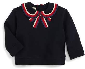 Gucci Sylvie Ribbon Trim Sweatshirt