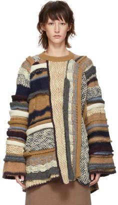 Stella McCartney Multicolor Textured Stitch Sweater