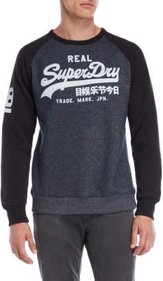 Superdry Vintage Raglan Sleeve Sweatshirt