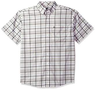Cinch Men's Arenaflex Short Sleeve Button Plaid Shirt