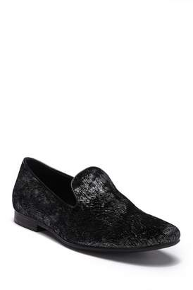 Giorgio Brutini Velvet Metallic Brushed Smoking Slipper
