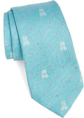 Psycho Bunny (サイコ バニー) - Psycho Bunny Bunny Dot Silk Tie