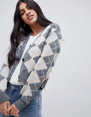 Asos (エイソス) - ASOS DESIGN argyle cardigan