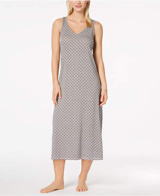 Alfani Honeycomb-Print Nightgown, Created for Macy's