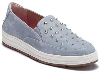 Adrienne Vittadini Studded Slip-On Sneaker