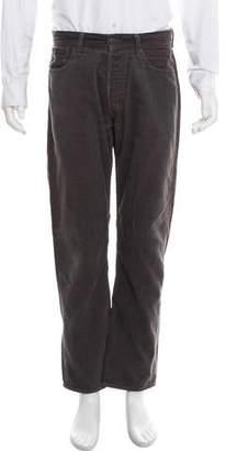 Lucien Pellat-Finet Cropped Corduroy Pants