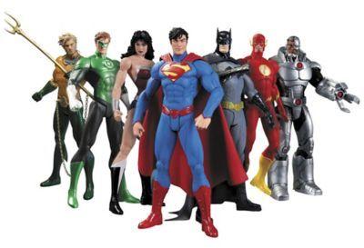 DC ComicsTM Justice League New 52 7-Piece Action Figure Set