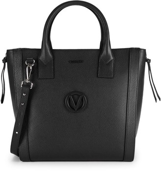 Call Of The Wild Valentino By Mario Valentino Charmont Leather Convertible Tote