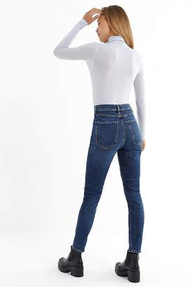 A Gold E AGOLDE Roxanne Super High-Rise Skinny Jean – Freeway