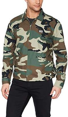 Obey Men's Driver Military Jacket