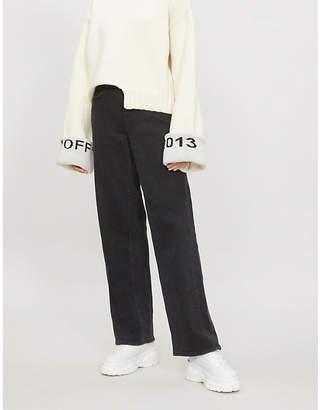 Cotton Citizen High-rise straight-leg boyfriend jeans