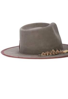 Nick Fouquet Cuba tornado wide brim fedora hat