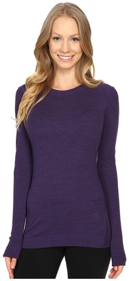 Smartwool - NTS Mid 250 Crew Top Women's Long Sleeve Pullover $95 thestylecure.com