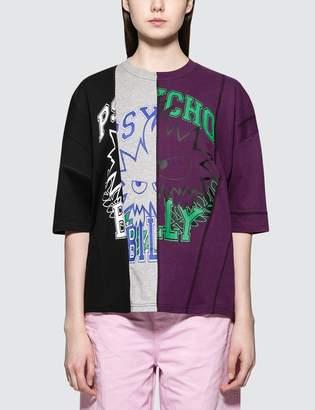 McQ Vertical Cut Short Sleeve T-shirt