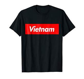 Vietnam Box Logo Souvenir T-Shirt
