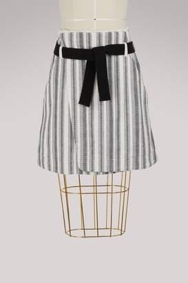 Vanessa Bruno Ilora cotton wrap skirt