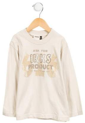 Ikks Boys' Long Sleeve Graphic Print T-Shirt w/ Tags