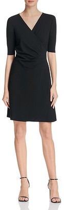 Adrianna Papell Mock Wrap Jersey Dress $130 thestylecure.com