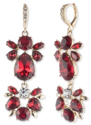 Women's Givenchy Drama Crystal Drop Earrings $88 thestylecure.com