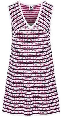 M Missoni Intarsia Cotton-Blend Mini Dress