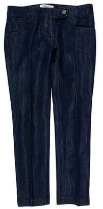 Christian Dior Low-Rise Straight-Leg Jeans