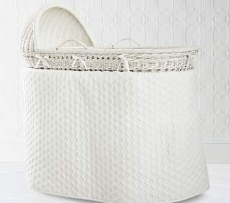 Pottery Barn Kids Bassinet Bedding Set: Bumper & Skirt