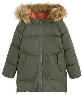MANGO Reversible feather down jacket