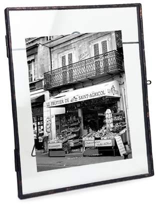 Antique Locket Picture Frame - Brass