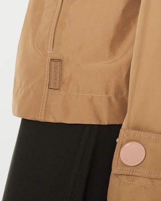 Hunter womens refined trench jacket