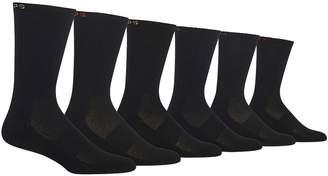 Chaps Men's 6-pack Solid Sport Crew Socks