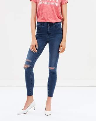DECJUBA Harper Rip Knee Skinny Jeans