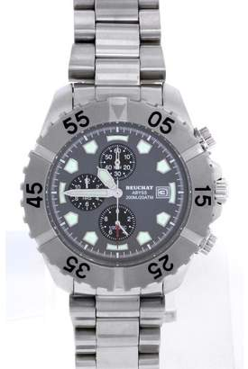 Beuchat Abyss Beu0142 Stainless Steel Chronograph 42mm Mens Watch
