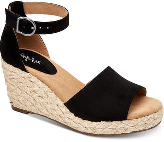 Style&Co. Style & Co Seleeney Wedge Sandals, Women Shoes