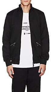 "Blood Brother MEN'S ""WEB"" COTTON-BLEND TRACK JACKET-BLACK SIZE S"
