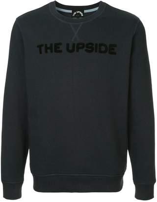 The Upside logo patch sweatshirt