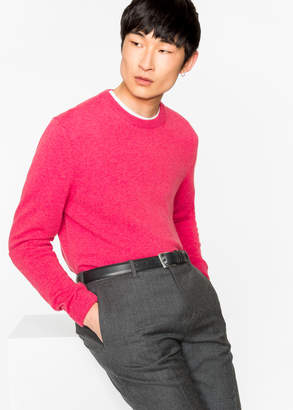 Paul Smith Men's Pink Cashmere Sweater