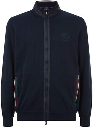 Paul & Shark Knitted Zip Up Jacket