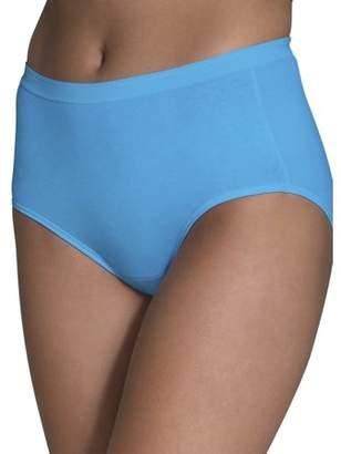 Fruit of the Loom Women's Cotton Brief Panties, 6 Pack