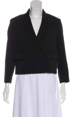 3.1 Phillip Lim Double-Breasted Cropped Blazer