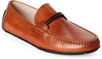 Steve Madden Tan Breezes Leather Loafers